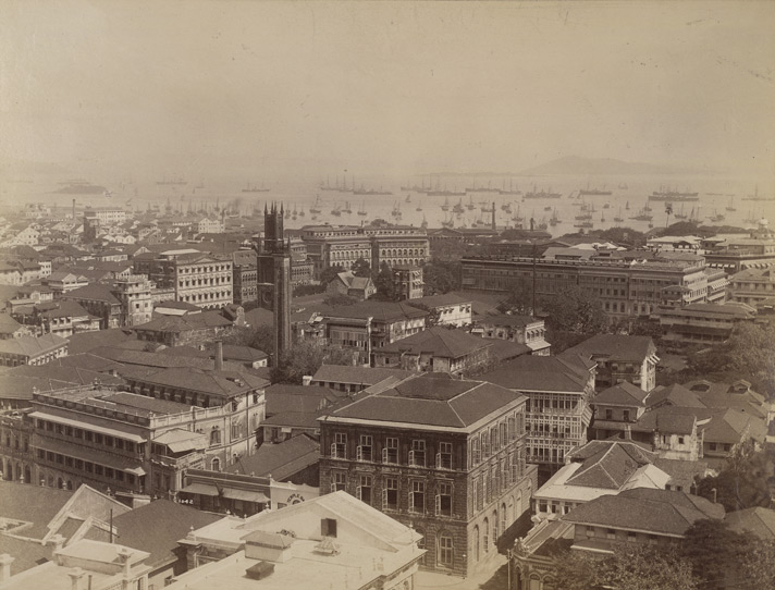 Panorama of Fort, Bombay